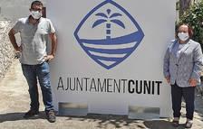 Esta es la imagen de la marca que ha creado el Ayuntamiento de Cunit.