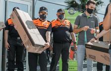 Greencut hace una donación de motosierras y desbrozadoras a los voluntarios de Protección Civil de Tarragona y Valls