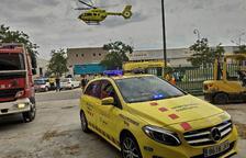Un trabajador herido de gravedad en un accidente laboral en Valls