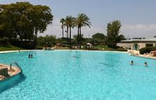 Imagen de las piscinas municipales del Parc dels Capellans.