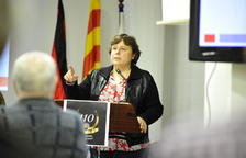 La presidenta del Reus Deportiu, Mònica Balsells.