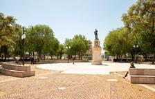 Imagen de la plaza de los Carros de Tarragona, donde se ubicará el nuevo Mercado del Campesinado.
