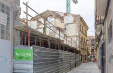 La primera planta del nuevo edificio ya es una realidad.