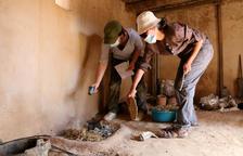 Recrean chimeneas y hornos en la Ciutadella Ibérica de Calafell para estudiar cómo era la vida en la edad de hierro
