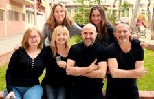 Los seis integrantes de la nueva compañía Antagonista Teatro.