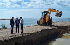 Comença la construcció de la base nàutica al port de Sant Carles de la Ràpita