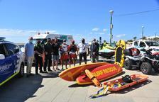 Torredembarra estrena empresa de salvament i socorrisme per aquest estiu