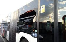 Trenquen el vidre d'un bus de l'EMT d'una pedrada al barri de Campclar