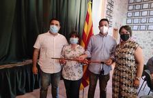 Òscar Sendra pren el relleu a Dolors Palma a l'alcaldia d'Aiguamúrcia