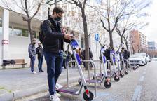 Els nous aparcaments de patinets ampliaran la xarxa cap a Llevant