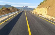Un desvío alternativo permitirá reabrir la carretera de Horta de Sant Joan a partir de este viernes