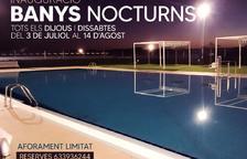 L'Arboç torna a programar 'Banys Nocturns' a la piscina municipal