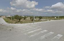 Imatge d'una zona sense habitatges als afores de Banyeres del Penedès.