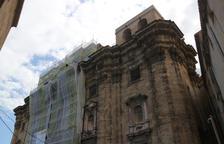 La neteja de la façana de la catedral de Tortosa recuperarà l'aspecte original del segle XVII