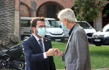 Aragonès demana «responsabilitat» i mantenir l'ús de la mascareta i les quarantenes