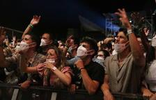 El Festival Cruïlla tanca la primera jornada amb la detecció de 126 positius entre els més de 15.000 espectadors