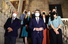Aragonès alerta que l'explosió dels contagis pot afectar la recuperació econòmica i fa una crida a la responsabilitat