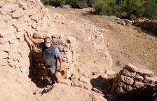 Descubren una muralla, un cementerio militar y la puerta de entrada ibérica al yacimiento del Coll del Moro de Gandesa