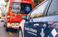 Un autocar se desenfrena y mata su conductor en el barrio de la Bonanova de Barcelona