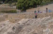 Las obras en el Anfiteatro de Tarragona para fijar la roca durarán dos semanas