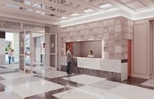 Imatge virtual del projecte de reforma del vestíbul.