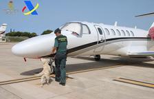 Llega a Ibiza con su jet privado y lo detienen por tráfico de drogas