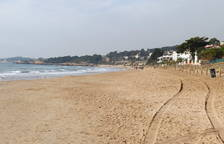 Imatge d'arxiu de la platja Llarga de Tarragona.