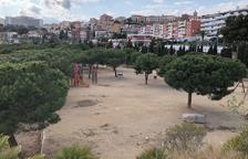 Espai proper a la pista de futbol sala del Miracle, on està previst que s'ubiqui el nou skatepark.
