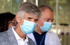 Argimon avisa que queden dies de «molt contagi» encara que s'hagi arribat al pic i de «molta tensió» al sistema sanitari