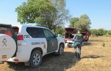 La Guàrdia Civil va localitzar l'home amb verí per matar indiscriminadament animals silvestres.
