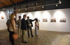 Imatge de la presentació dels treballs a la modalitat de Fotoperiodisme Camp de Tarragona del