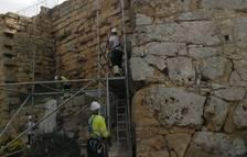Finalitza la intervenció d'urgència a la Torre de Minerva de Tarragona