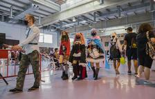 Els personatges 'anime' van ser la tònica habitual al Palau de Congressos de Tarragona.