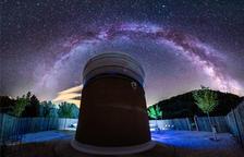 Imatge de l'Observatori Astronòmic Albanyà, a Girona.