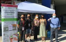 El Ayuntamiento de Tarragona inicia la campaña para repartir las tarjetas identificativas para el cierre de contenedores
