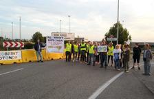 Celebran la reapertura de la rotonda de acceso del AP-7 en Torredembarra después de años de reivindicaciones