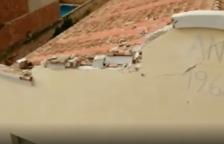 Una tormenta pasa por les Terres de l'Ebre y causa desperfectos