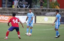 El Nàstic és efectiu i guanya davant l'Olot (0-1)