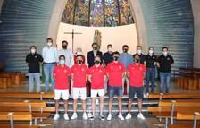 El Nàstic realitza la tradicional ofrena al Santuari del Loreto
