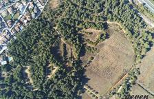 Imagen aérea del sector sur de Miramar.
