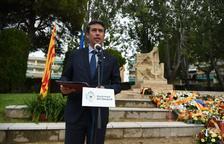 L'alcalde Kenneth Martínez durante el parlamento.