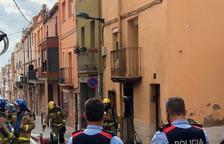 Seis heridos menos graves a causa del incendio de una vivienda en el Morell