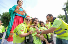 Santa Tecla se viste de solidaridad para implicar a los tarraconenses