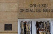 Imagen de archivo del Colegio de Médicos de Tarragona.