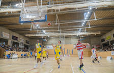 El Pabellón Salou Centre ha acogido un partido entre el CB Salou y el CB Valls, también de Liga Catalana.