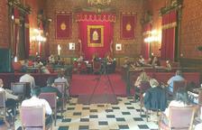 El Ayuntamiento ha recuperado los plenarios presenciales.