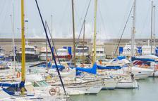 Imatge d'arxiu del Port Esportiu de Tarragona el gener del 2020.