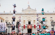 Imatge de l'actuació limitada realitzada per Santa TEcla a Tarragona.
