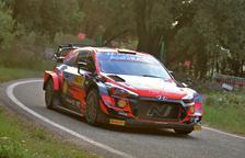 Neuville a bord del Hyundai i20 Coupe WRC