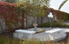 Pla general de l'espai de dol perinatal i gestacional que s'ha habilitat al cementiri municipal de Sant Carles de la Ràpita.